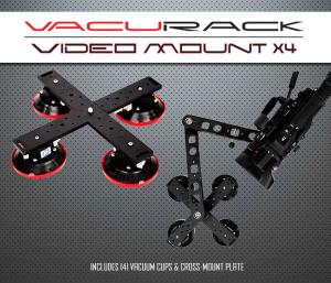 VacuRack Video Mount X4