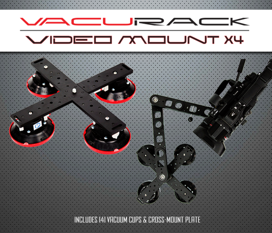 VacuRack Video Mount X4